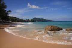 plażowy Phuket seascape surin Obrazy Stock