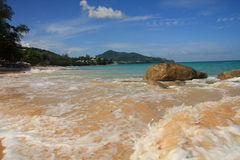 plażowy Phuket seascape surin Fotografia Royalty Free