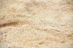 Plażowy piasek Zdjęcie Stock