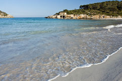 plażowy piaskowaty Zdjęcia Stock