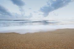 plażowy piaskowaty Fotografia Royalty Free