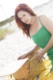 Plażowy pinkin Zdjęcia Royalty Free