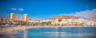 Plażowy Playa De Los angeles Dukt w Tenerife, Hiszpania. Obrazy Stock