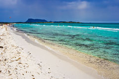 plażowy pogodny obraz royalty free