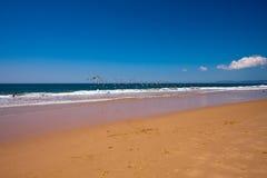Plażowy Portugalia Fotografia Royalty Free