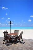 plażowy przód Fotografia Stock