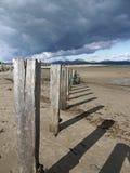 plażowy pwllheli Zdjęcia Royalty Free