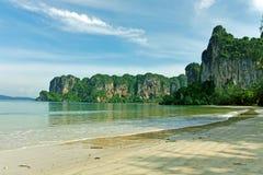 plażowy railay Thailand Obrazy Stock