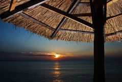 plażowy ranek Fotografia Stock