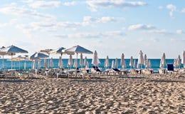 plażowy ranek Zdjęcia Stock