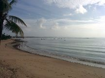 plażowy ranek fotografia royalty free
