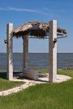 plażowy schronienie fotografia royalty free