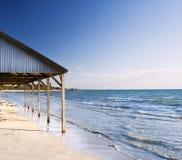 plażowy schronienie Zdjęcia Royalty Free