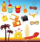 plażowy set Fotografia Royalty Free