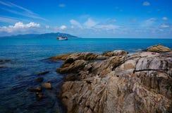 plażowy skalisty Thailand Obraz Royalty Free