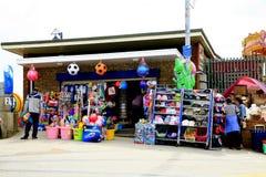 Plażowy sklep Zdjęcia Royalty Free
