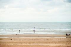 plażowy surfing Fotografia Royalty Free