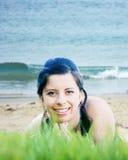 plażowy target1128_0_ Zdjęcie Royalty Free