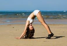plażowy target1416_0_ Zdjęcie Royalty Free