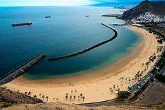plażowy Tenerife Zdjęcie Stock