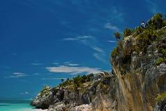plażowy tulum Fotografia Stock