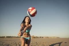 Plażowy Voleyball Zdjęcie Royalty Free