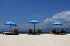 plażowy wakacje Zdjęcia Royalty Free