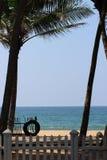 Plażowy wakacje na oceanie indyjskim obraz royalty free