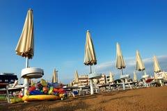 plażowy wczesny poranek Obraz Stock