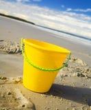 plażowy wiadro Obrazy Stock