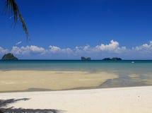 Plażowy widok Fotografia Royalty Free