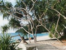 Plażowy widok Zdjęcia Royalty Free