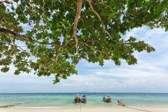 plażowy wyspy ko phi Fotografia Stock