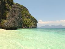 plażowy wyspy piaska biel Zdjęcia Stock