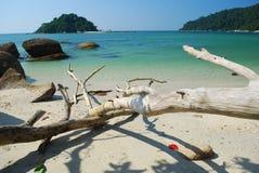 plażowy wyspy piaska biel Obrazy Stock