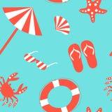 Plażowy wzór Zdjęcia Royalty Free