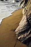 plażowy zmierzch Obrazy Royalty Free