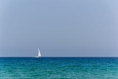 Plaża Parasporos w Paros, Grecja - Obraz Stock