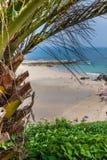 Plaża Pechon, Cantabria, Hiszpania Zdjęcia Royalty Free