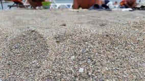 Plaża, piasek i morze w AHtopol, Zdjęcia Stock