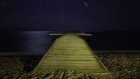 Plaża pod gwiazdami zbiory wideo