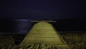 Plaża pod gwiazdami zdjęcie wideo