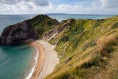 Plaża przy Durdle Drzwi Dorset Obrazy Stock