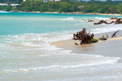 Plaża przy Playa Blanca Obrazy Stock