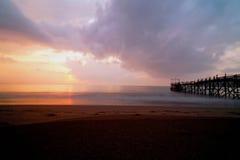 Plaża Przy rankiem Obraz Stock