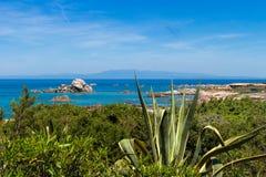 Plaża przy Sardinia Obrazy Royalty Free