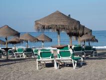 plaża pusta Zdjęcie Stock