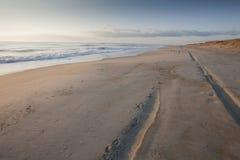 plaża pusta zdjęcia stock