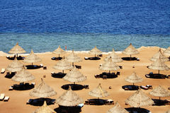plaża pusta Obrazy Stock