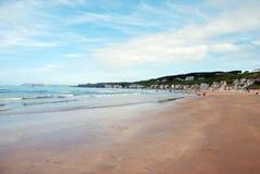 plaża rock white Fotografia Stock